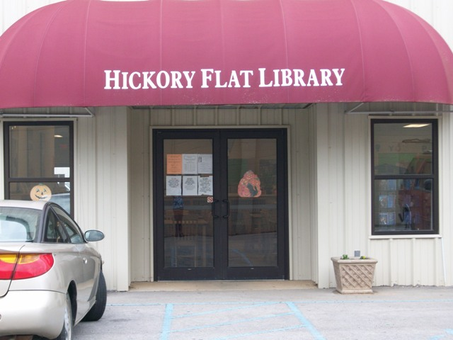 Hickory Flat Entrance