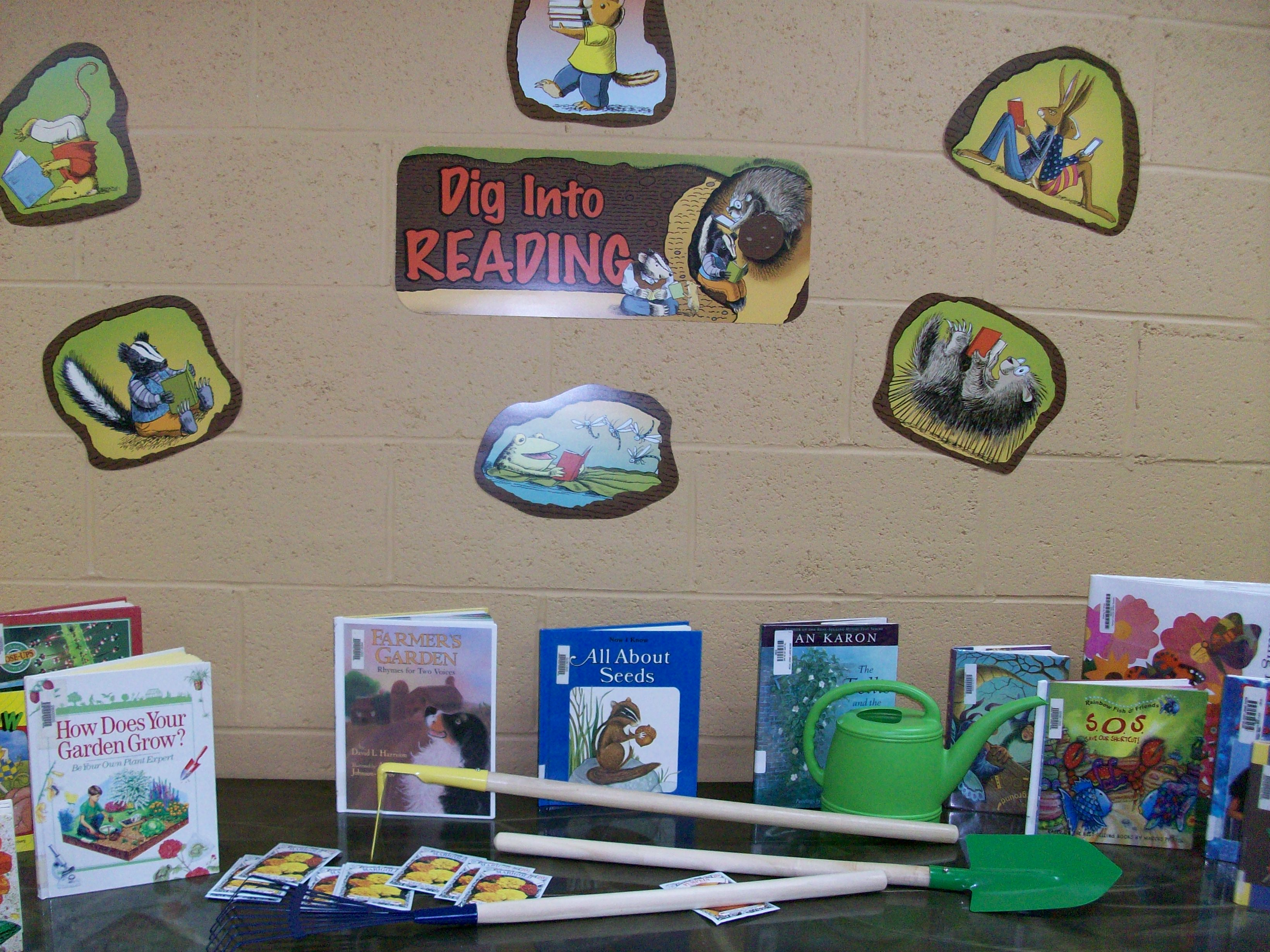 Summer Reading Display