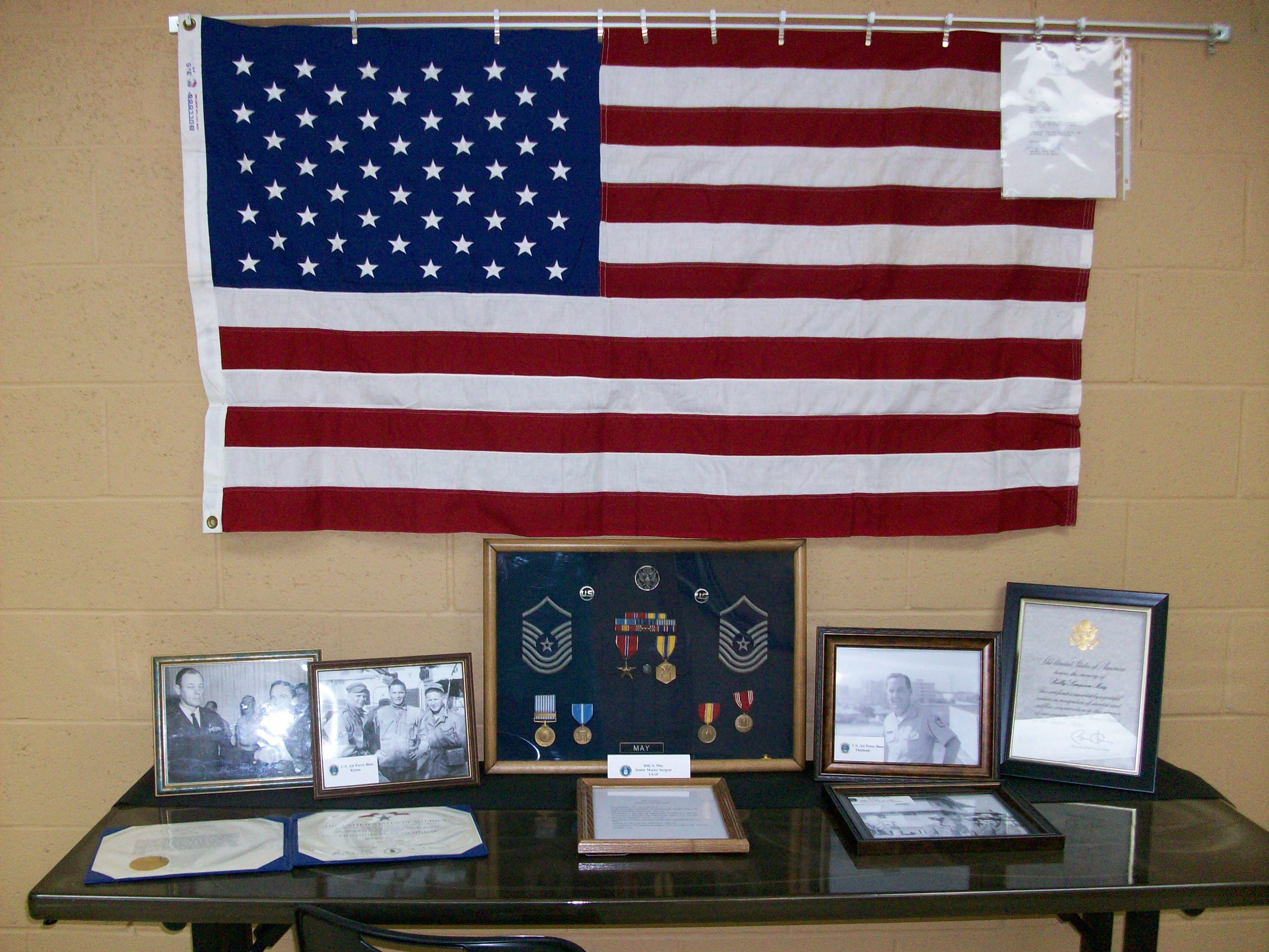Veteran's Display